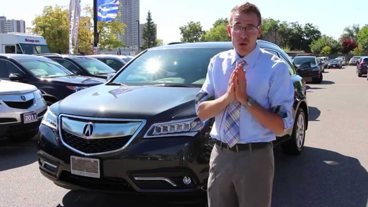 2015 Acura MDX Car Review Video