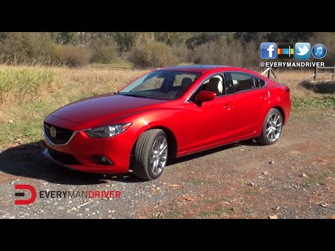 2015 Mazda MAZDA6 Car Review Video