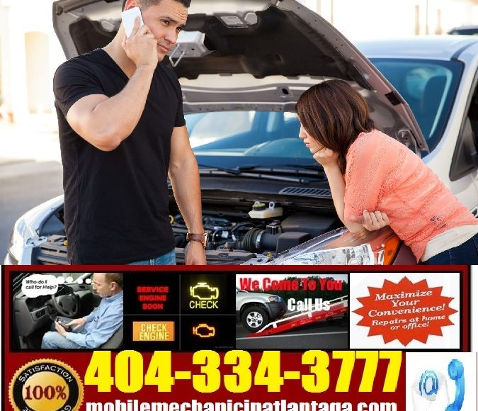Mobile Mechanic Atlanta GA Auto Car Repair Service Shop Near Me