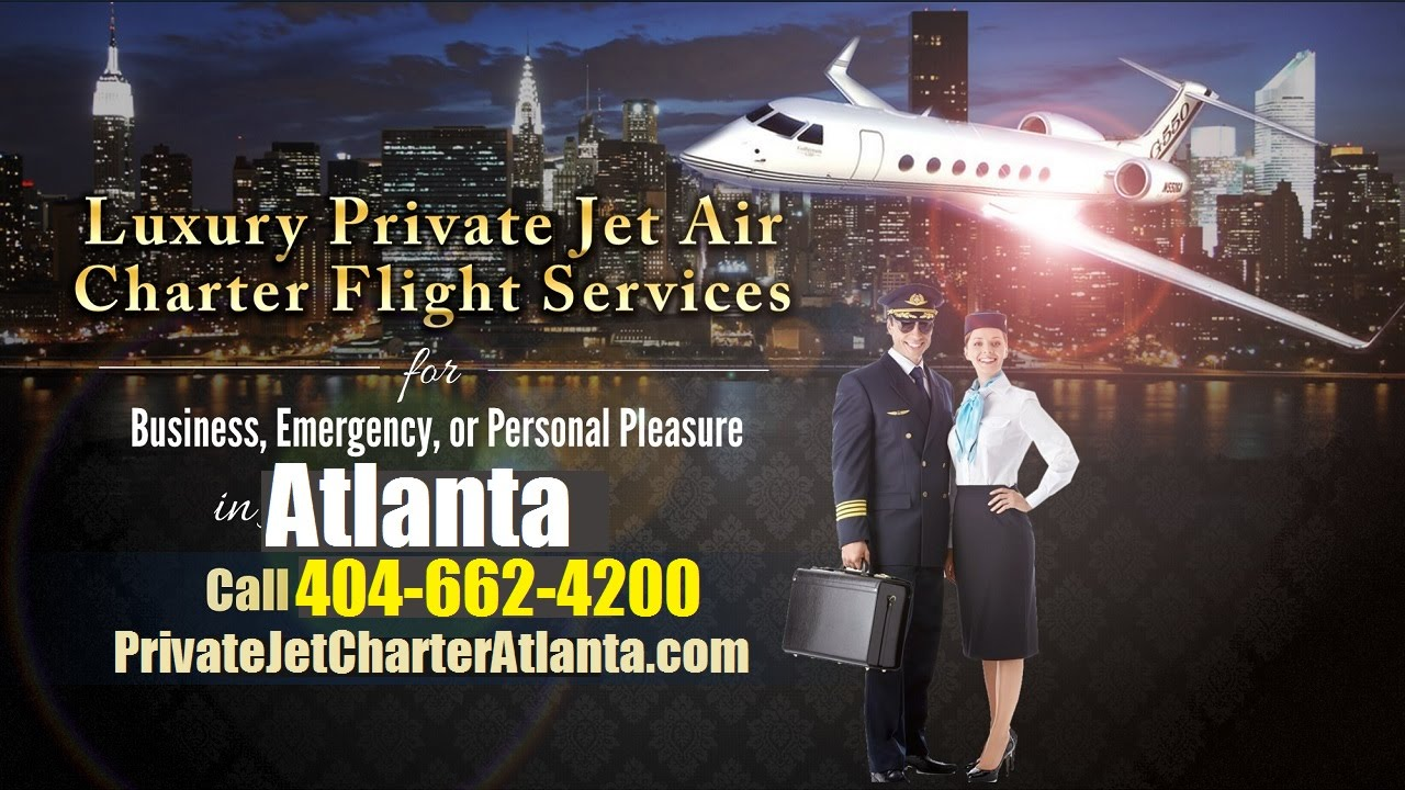 Executive Private Plane Charter Rental service Atlanta Georgia