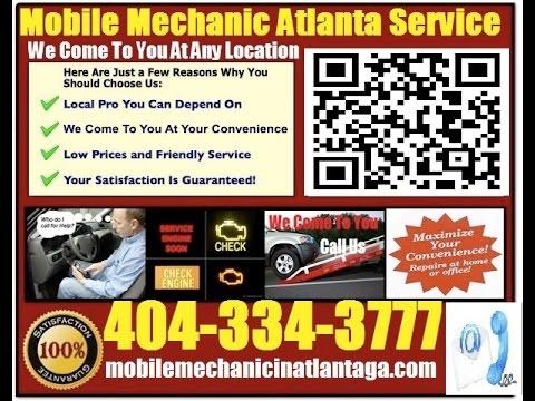 Mobile Mechanic StoneMountain Auto Car Repair & Pre Purchase Inspection