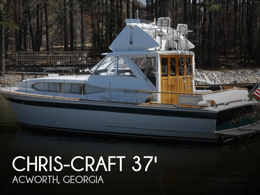 Used 1968 Chris Craft 37 Roamer In Acworth Georgia